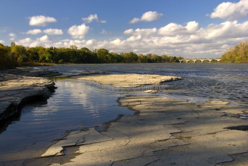 ποταμός maumee 4 στοκ εικόνες