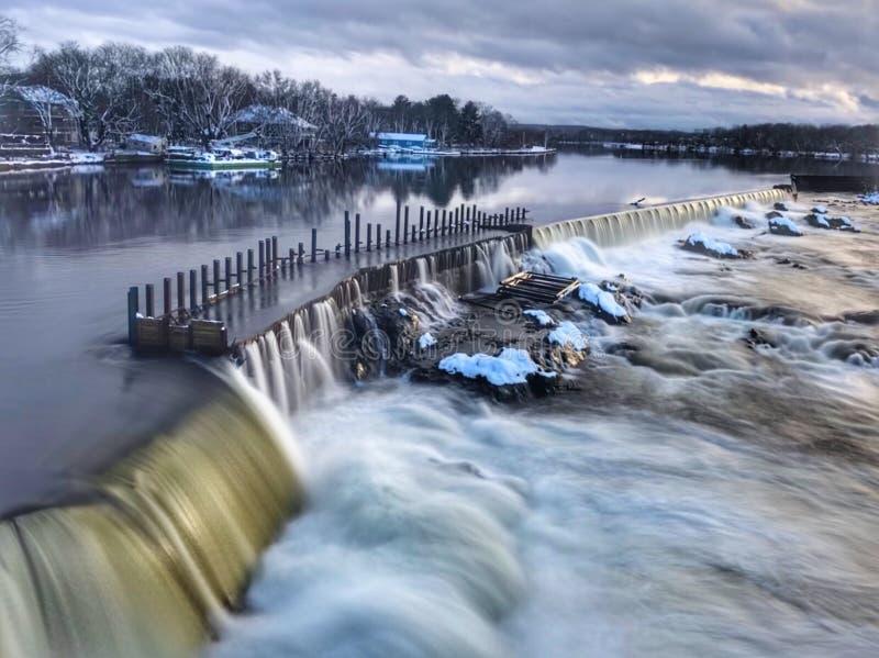 Ποταμός Merrimack στοκ εικόνα με δικαίωμα ελεύθερης χρήσης