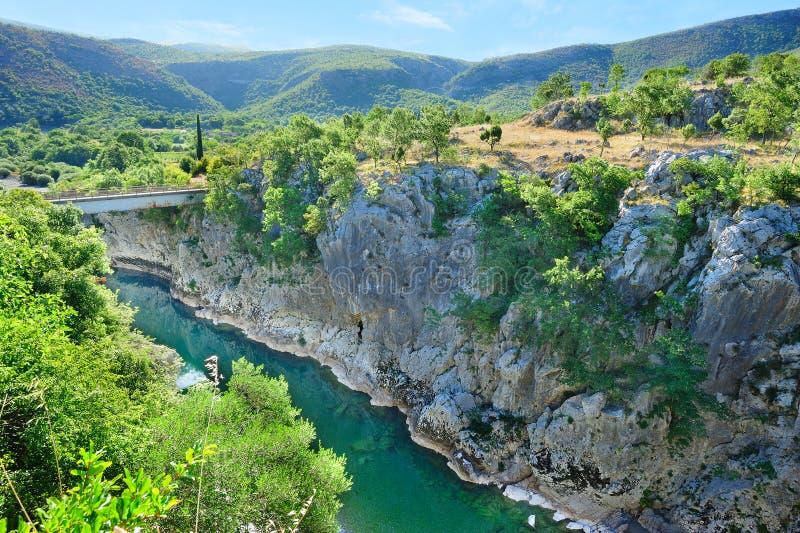 ποταμός mora φαραγγιών στοκ φωτογραφία με δικαίωμα ελεύθερης χρήσης