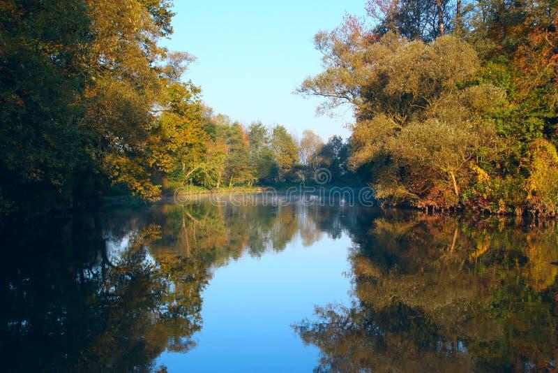 ποταμός morava στοκ εικόνα με δικαίωμα ελεύθερης χρήσης