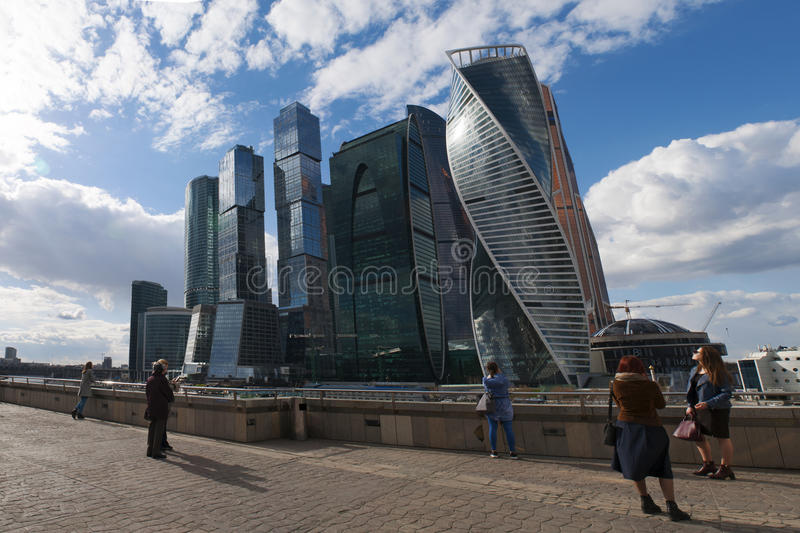 Ποταμός Moskva, Μόσχα, ρωσική ομοσπονδιακή πόλη, Ρωσική Ομοσπονδία, Ρωσία στοκ φωτογραφία με δικαίωμα ελεύθερης χρήσης