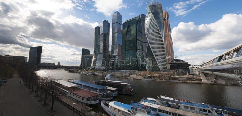 Ποταμός Moskva, Μόσχα, ρωσική ομοσπονδιακή πόλη, Ρωσική Ομοσπονδία, Ρωσία στοκ φωτογραφία