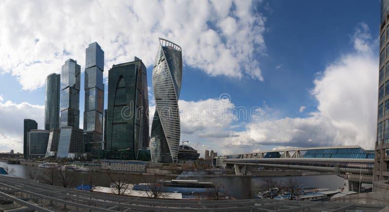 Ποταμός Moskva, Μόσχα, ρωσική ομοσπονδιακή πόλη, Ρωσική Ομοσπονδία, Ρωσία στοκ εικόνες με δικαίωμα ελεύθερης χρήσης