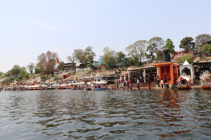 Ποταμός Narmada στο Jabalpur στοκ φωτογραφίες με δικαίωμα ελεύθερης χρήσης