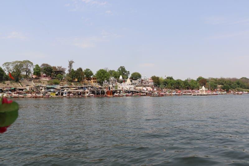 Ποταμός Narmada στο Jabalpur στοκ φωτογραφία με δικαίωμα ελεύθερης χρήσης