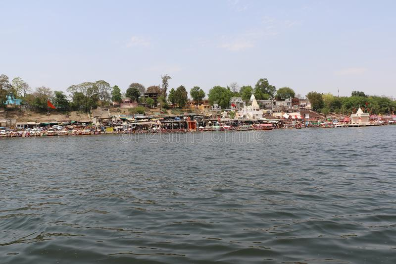 Ποταμός Narmada στο Jabalpur στοκ εικόνα με δικαίωμα ελεύθερης χρήσης