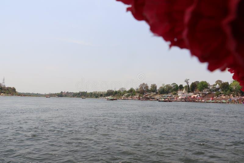 Ποταμός Narmada στο Jabalpur στοκ εικόνες