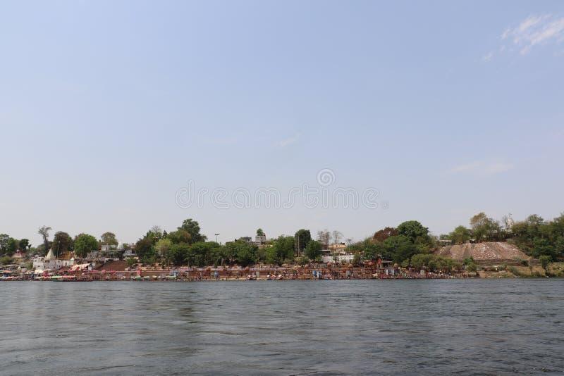 Ποταμός Narmada στο Jabalpur στοκ φωτογραφία