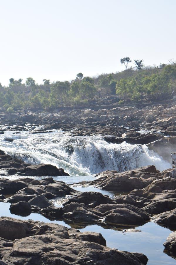 Ποταμός Narmada στοκ εικόνες