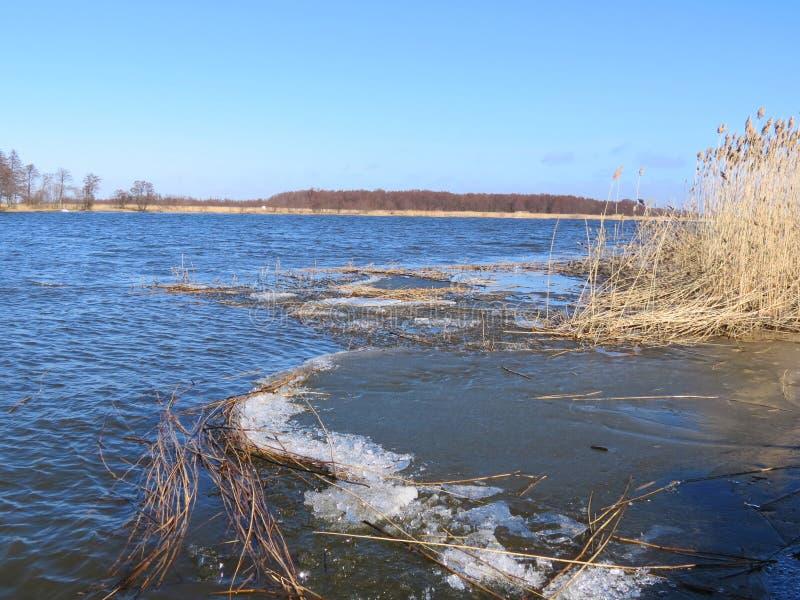 Ποταμός Nemunas, Λιθουανία στοκ φωτογραφίες