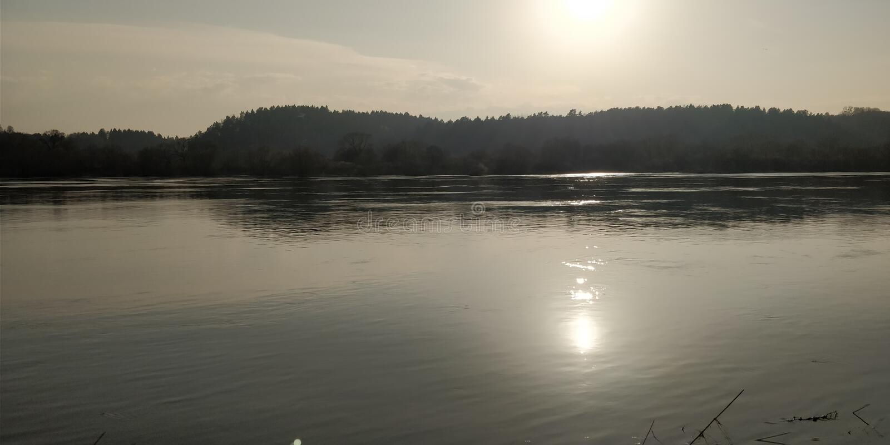 Ποταμός Nemunas στοκ εικόνες