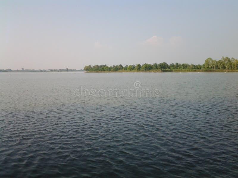 Ποταμός Nongxiem στοκ φωτογραφία