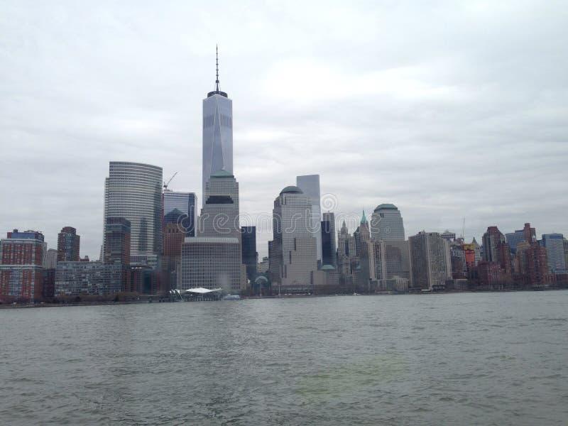 Ποταμός NYC στοκ εικόνα