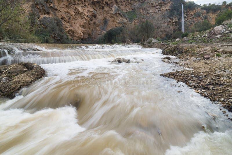 Ποταμός Palancia στοκ εικόνες