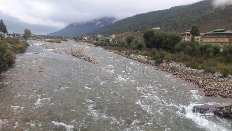 Ποταμός Paro στοκ εικόνα