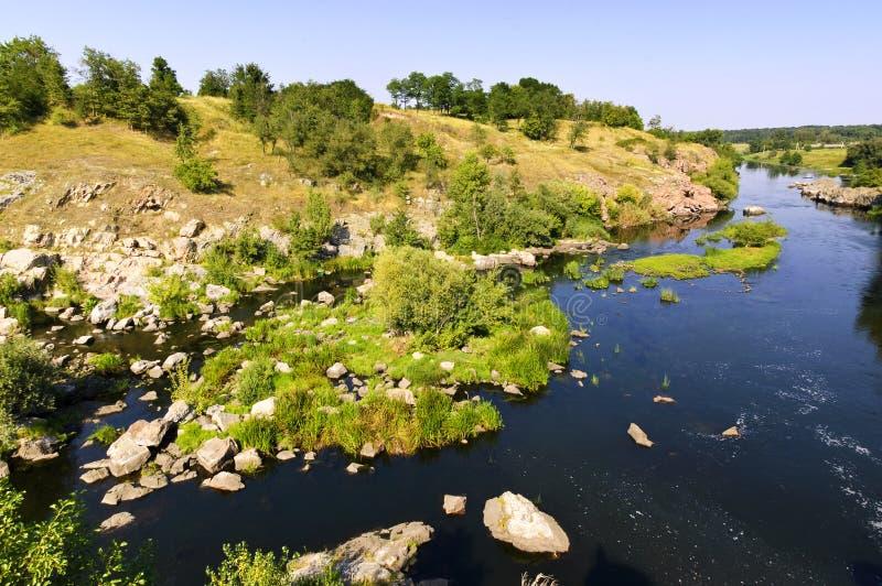 ποταμός ros μικρός στοκ φωτογραφία