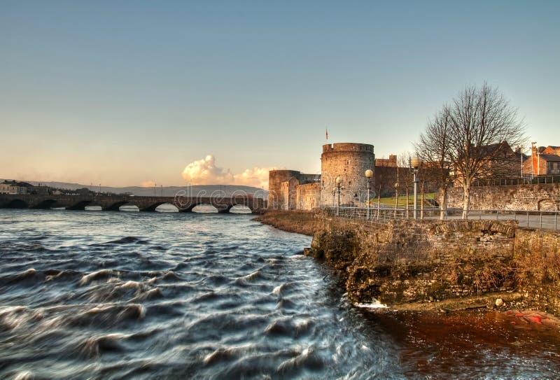 ποταμός s βασιλιάδων John κάστ&rho στοκ φωτογραφία