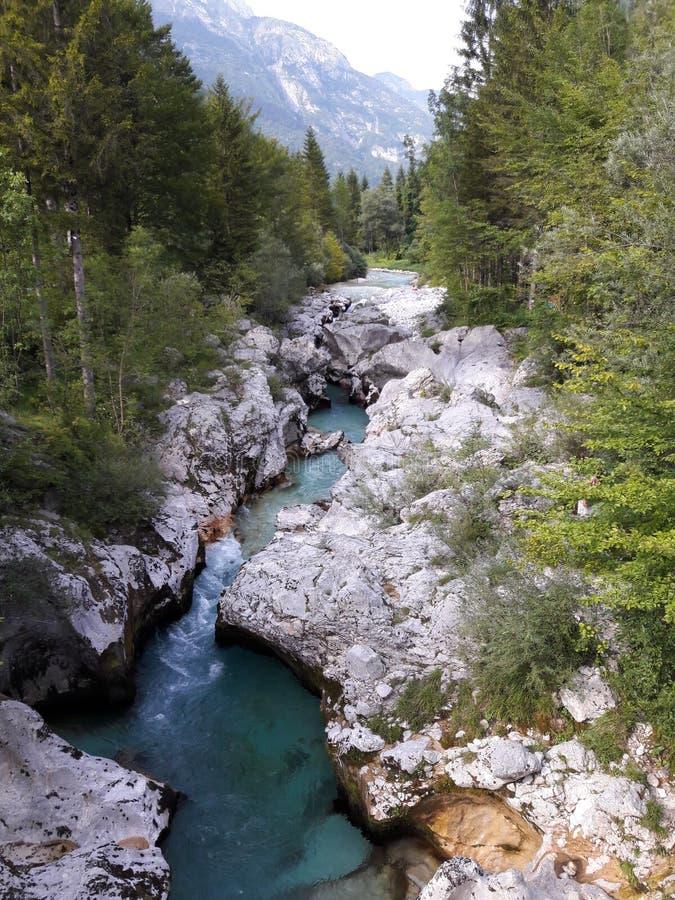 Ποταμός SoÄ  α στοκ φωτογραφίες με δικαίωμα ελεύθερης χρήσης