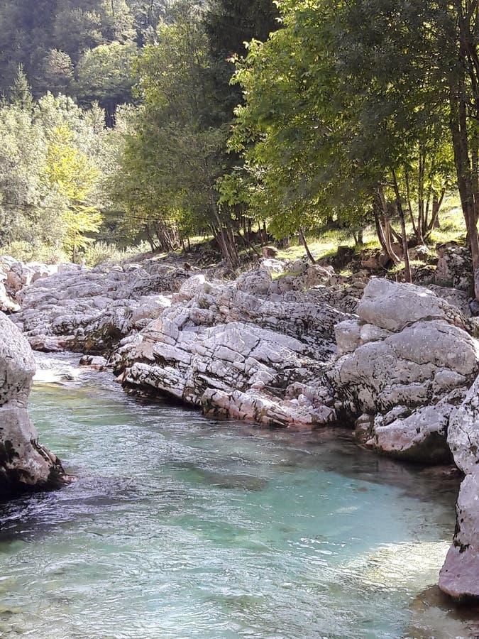 Ποταμός SoÄ  α στοκ φωτογραφία με δικαίωμα ελεύθερης χρήσης