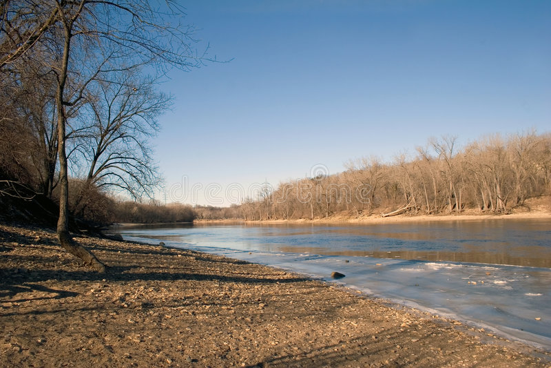 ποταμός ST Paul βορράδων του Μι&sig στοκ εικόνα με δικαίωμα ελεύθερης χρήσης