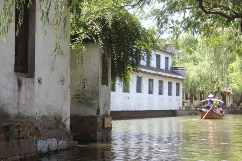 Ποταμός SU Zhou στοκ εικόνες
