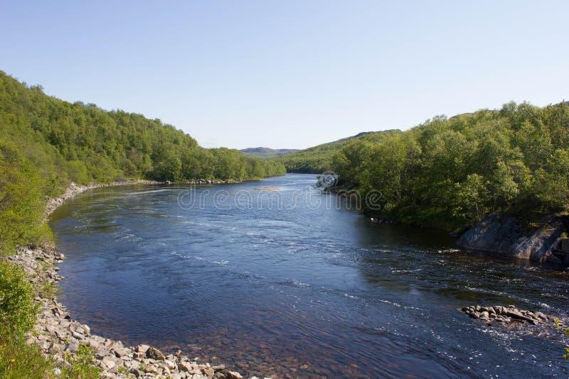 Ποταμός Titovka στοκ φωτογραφία με δικαίωμα ελεύθερης χρήσης