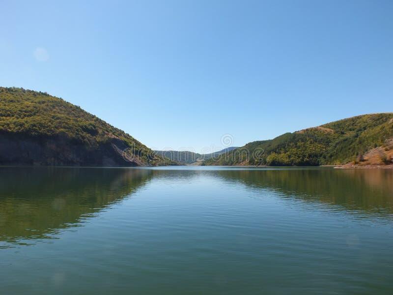 Ποταμός Uvac στοκ φωτογραφία
