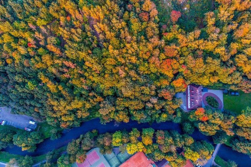 Ποταμός Vilnia Vilnius στοκ φωτογραφία με δικαίωμα ελεύθερης χρήσης