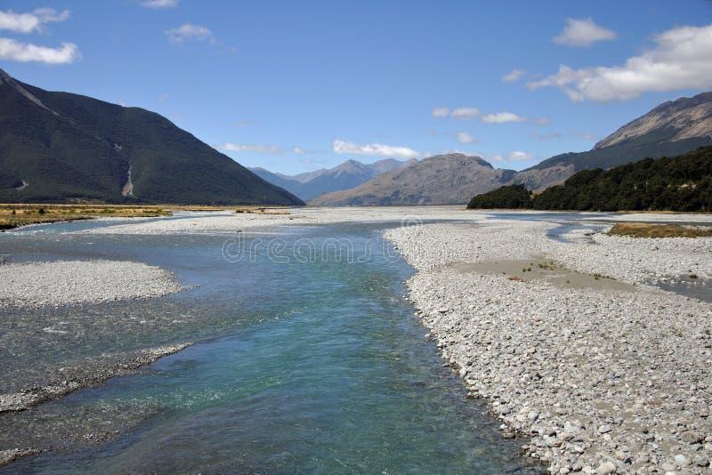Ποταμός Waimakariri στοκ εικόνες με δικαίωμα ελεύθερης χρήσης
