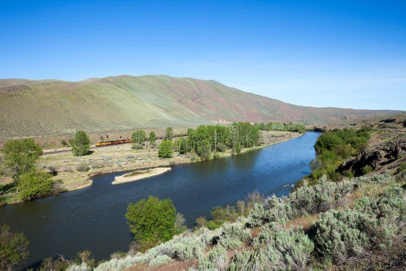 Ποταμός Yakima στοκ εικόνες