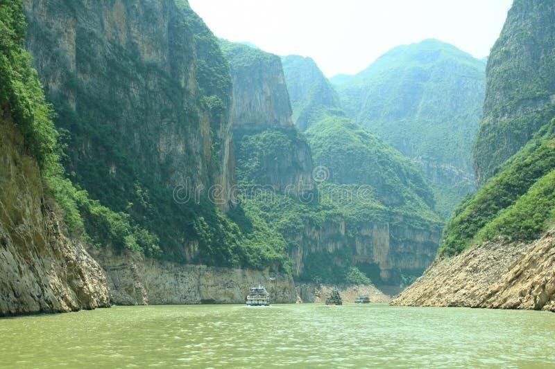 Ποταμός Yangzi στοκ φωτογραφίες