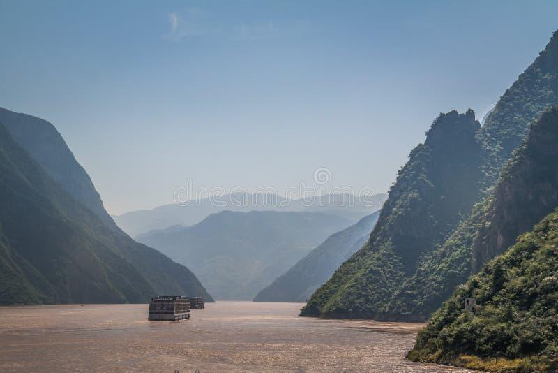 Ποταμός Yangzi στοκ εικόνες