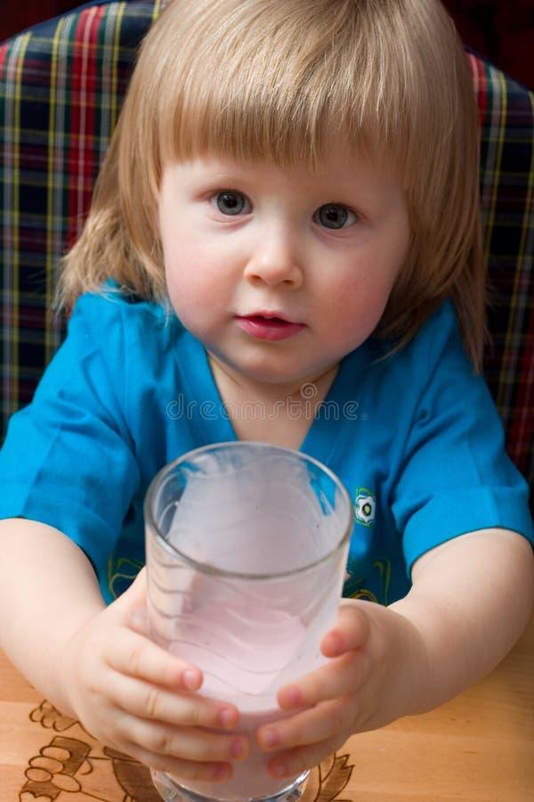ποτό γαλακτώδες στοκ εικόνα