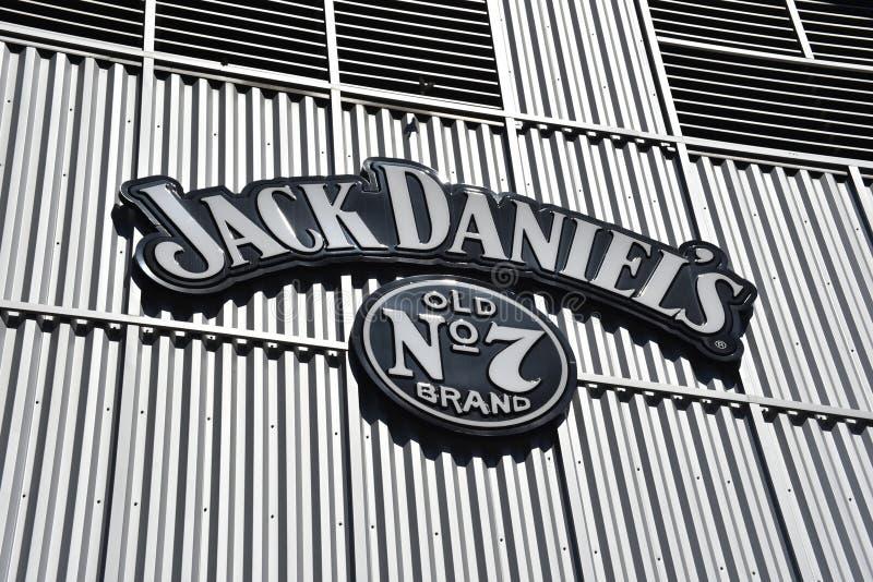 Ποτό εμπορικών σημάτων του Jack Ντάνιελ στοκ φωτογραφίες