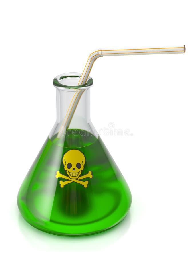Ποτό δηλητήριων ελεύθερη απεικόνιση δικαιώματος