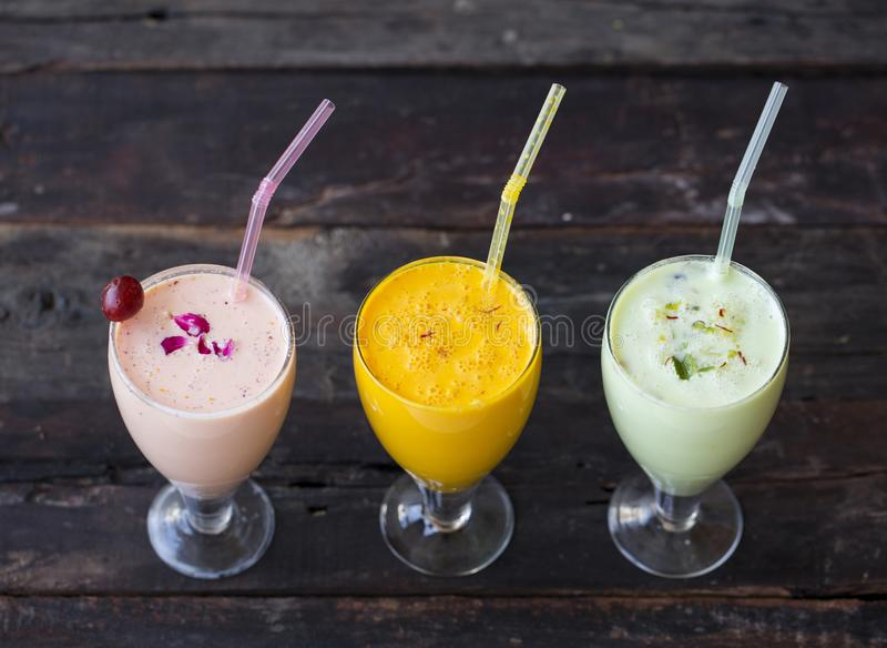 Ποτό κουνημάτων γάλακτος στοκ φωτογραφίες με δικαίωμα ελεύθερης χρήσης