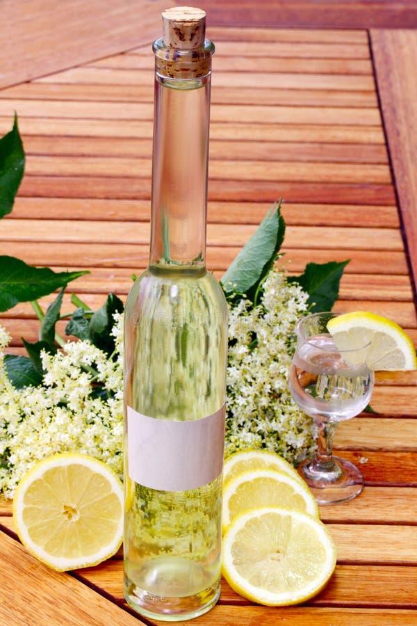 Ποτό Elderflower στοκ εικόνα