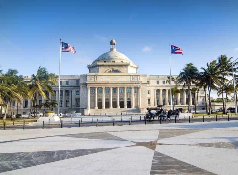 Πουέρτο Ρίκο Capitol στοκ φωτογραφία με δικαίωμα ελεύθερης χρήσης