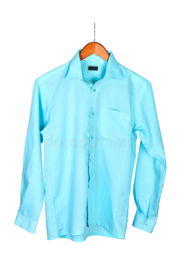 πουκάμισο κρεμαστρών στοκ φωτογραφία με δικαίωμα ελεύθερης χρήσης