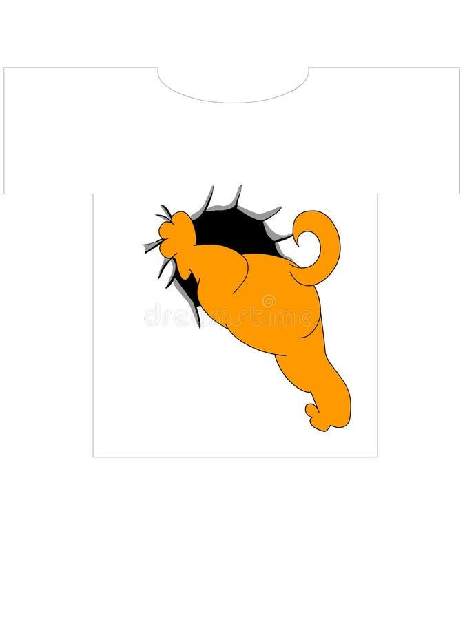 πουκάμισο τ σκυλιών 2 σχε ελεύθερη απεικόνιση δικαιώματος