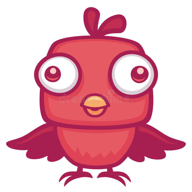 πουλί μωρών χαριτωμένο διανυσματική απεικόνιση