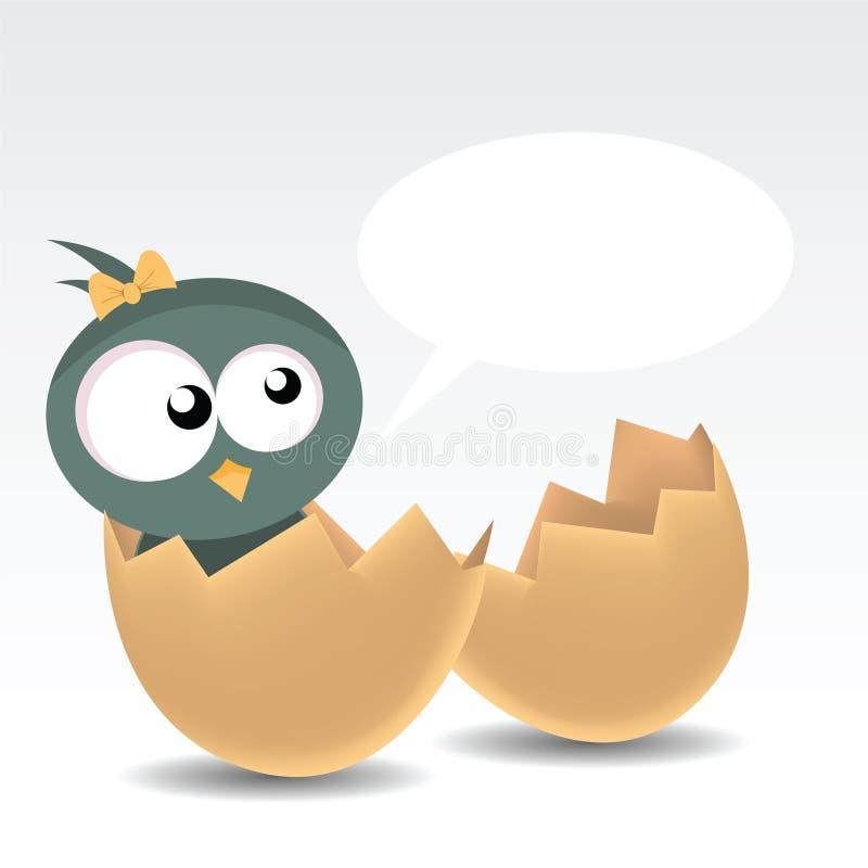 πουλί μωρών απεικόνιση αποθεμάτων