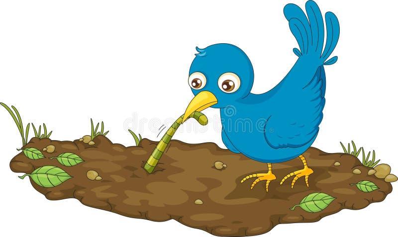 πουλί νωρίς ελεύθερη απεικόνιση δικαιώματος