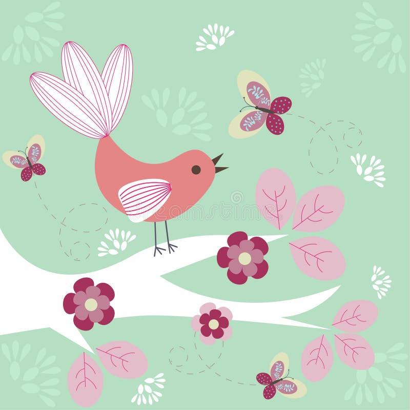 πουλί φοβιτσιάρες ελεύθερη απεικόνιση δικαιώματος
