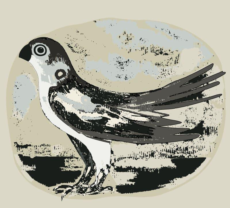 Download πουλί απεικόνιση αποθεμάτων. εικονογραφία από φτερό, ουρά - 13176285