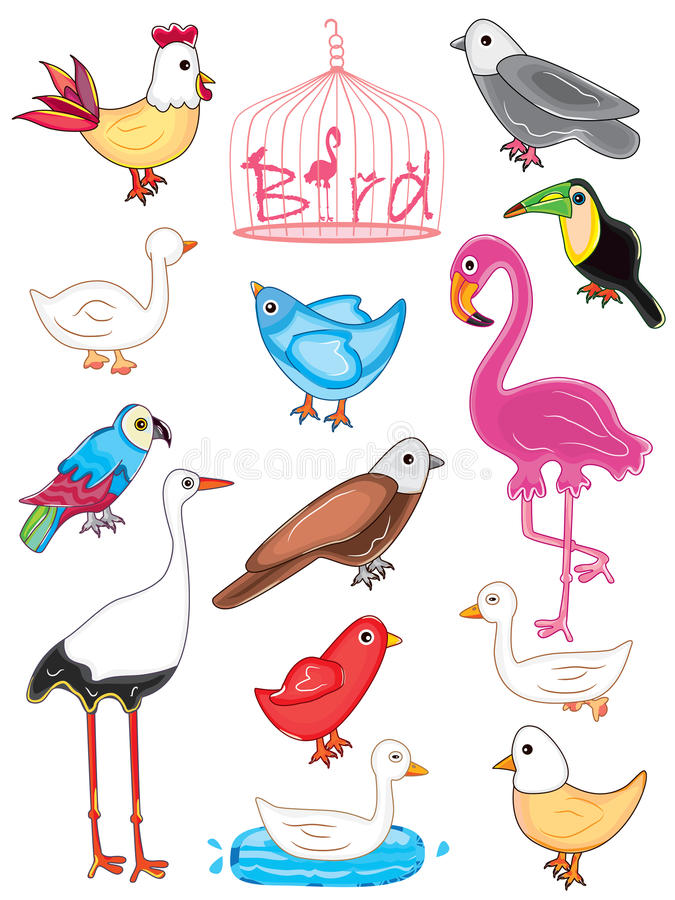 Download Πουλιά που τίθενται διανυσματική απεικόνιση. εικονογραφία από ανασκόπησης - 29535014