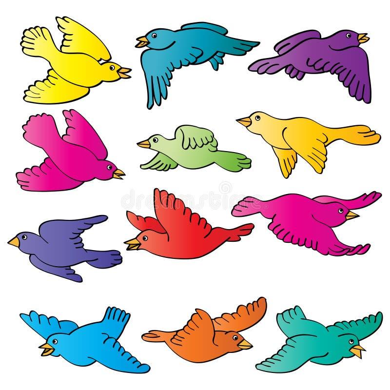 πουλιά απεικόνιση αποθεμάτων