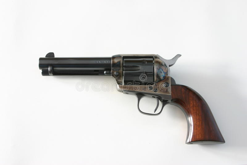 πουλάρι 45 πιστόλι, ειρηνοποιός στοκ φωτογραφία