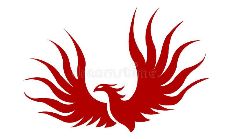 Πουλί του Phoenix στοκ εικόνα με δικαίωμα ελεύθερης χρήσης