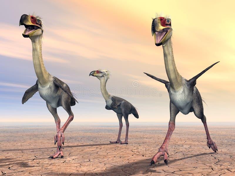 Πουλί Phorusrhacos τρόμου απεικόνιση αποθεμάτων